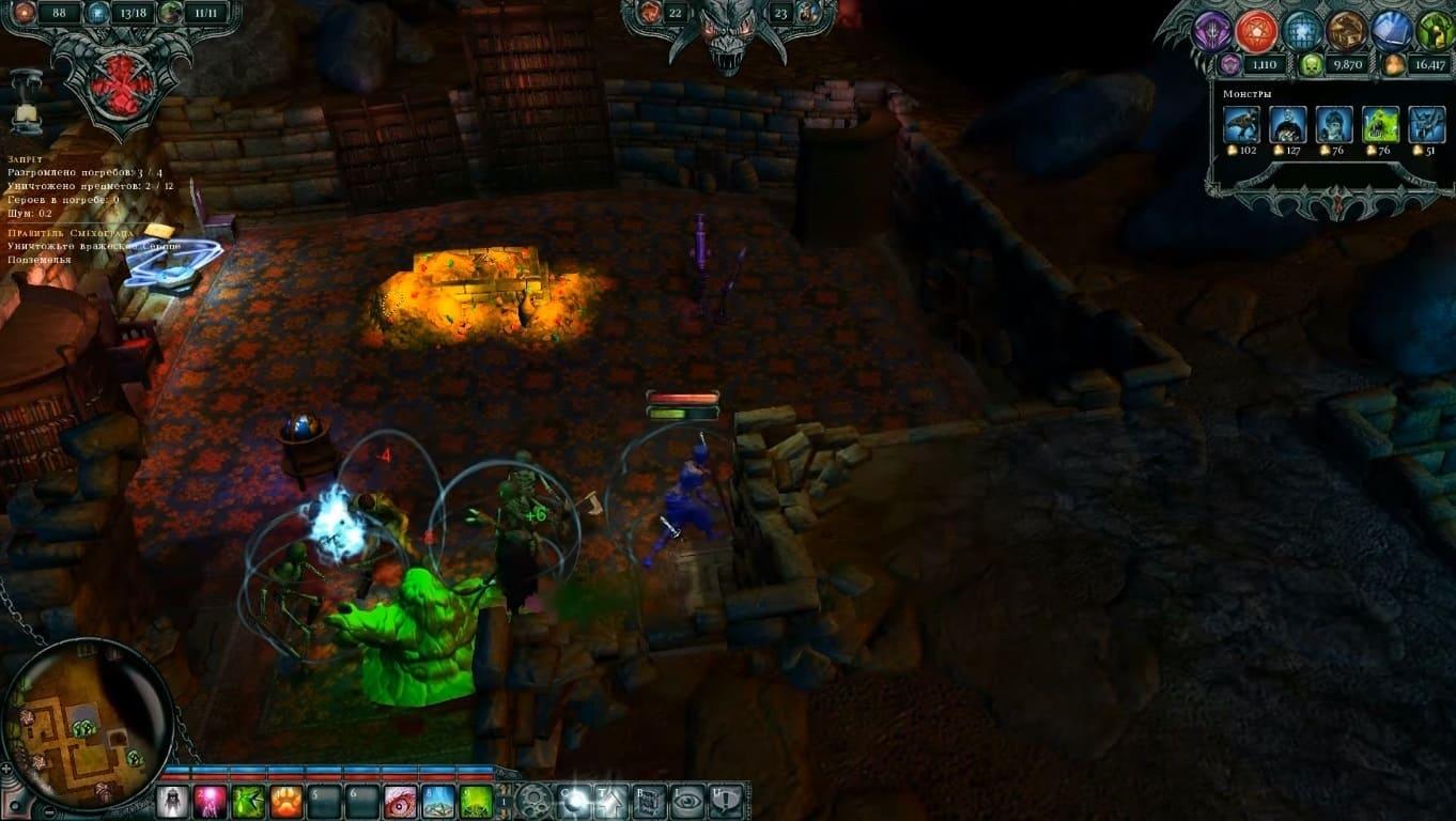 Обзор игры Dungeons