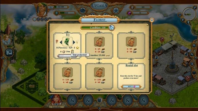 Обзор игры Uptasia