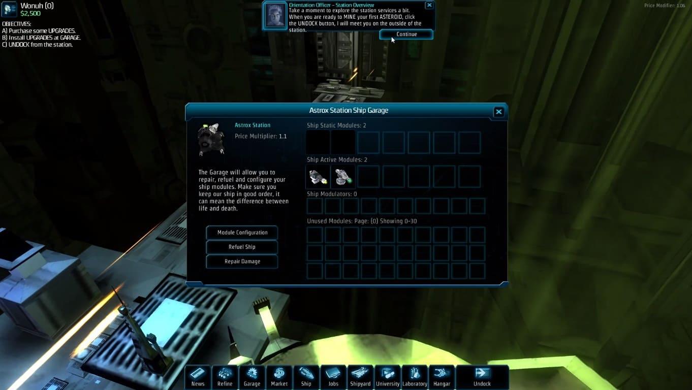 Обзор игры Astrox: Hostile Space Excavation