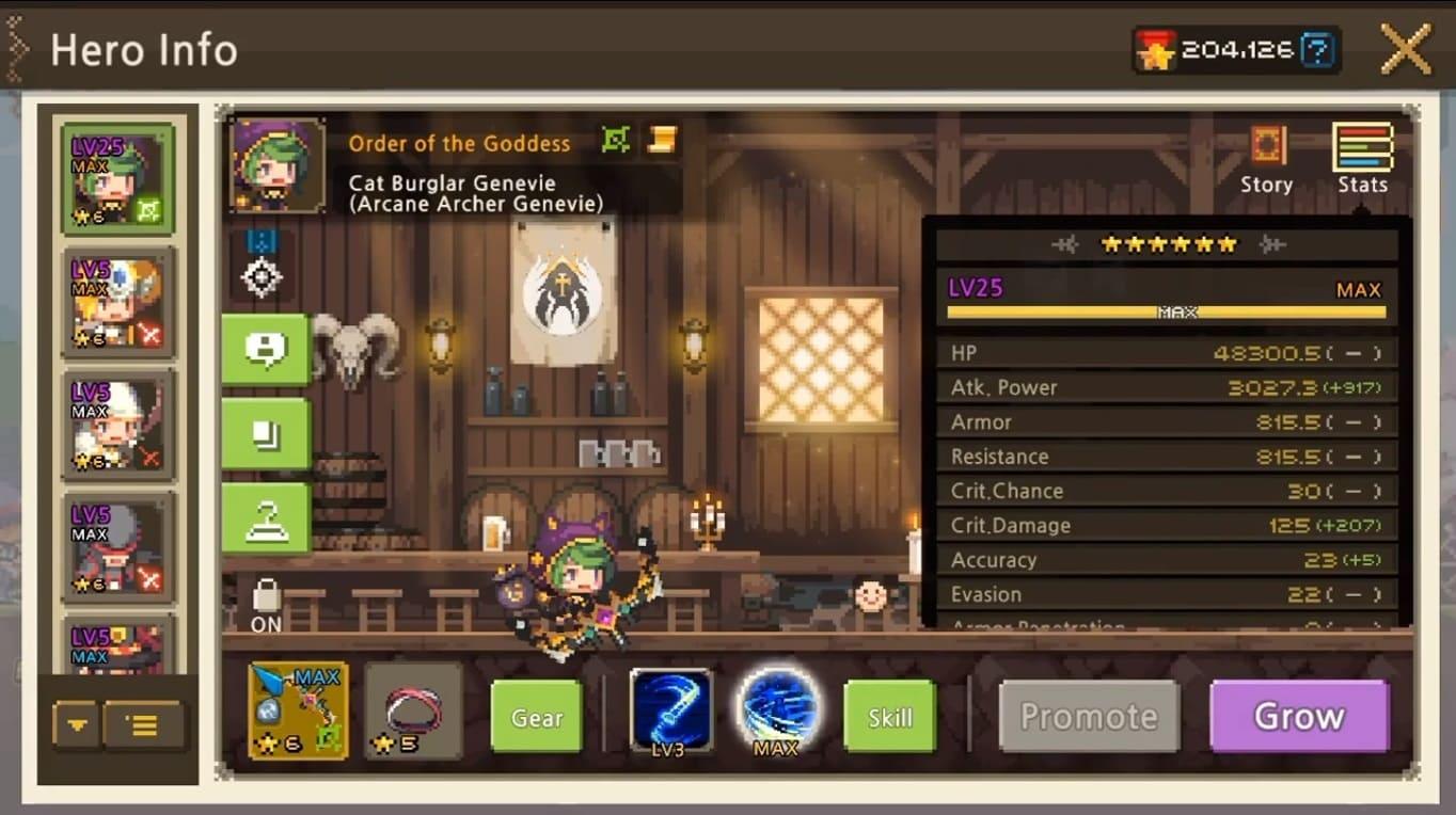 Обзор игры Crusaders Quest