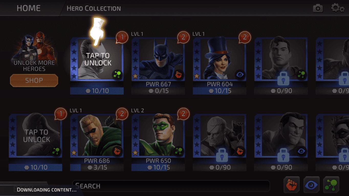Обзор игры DC Legends: Battle for Justice