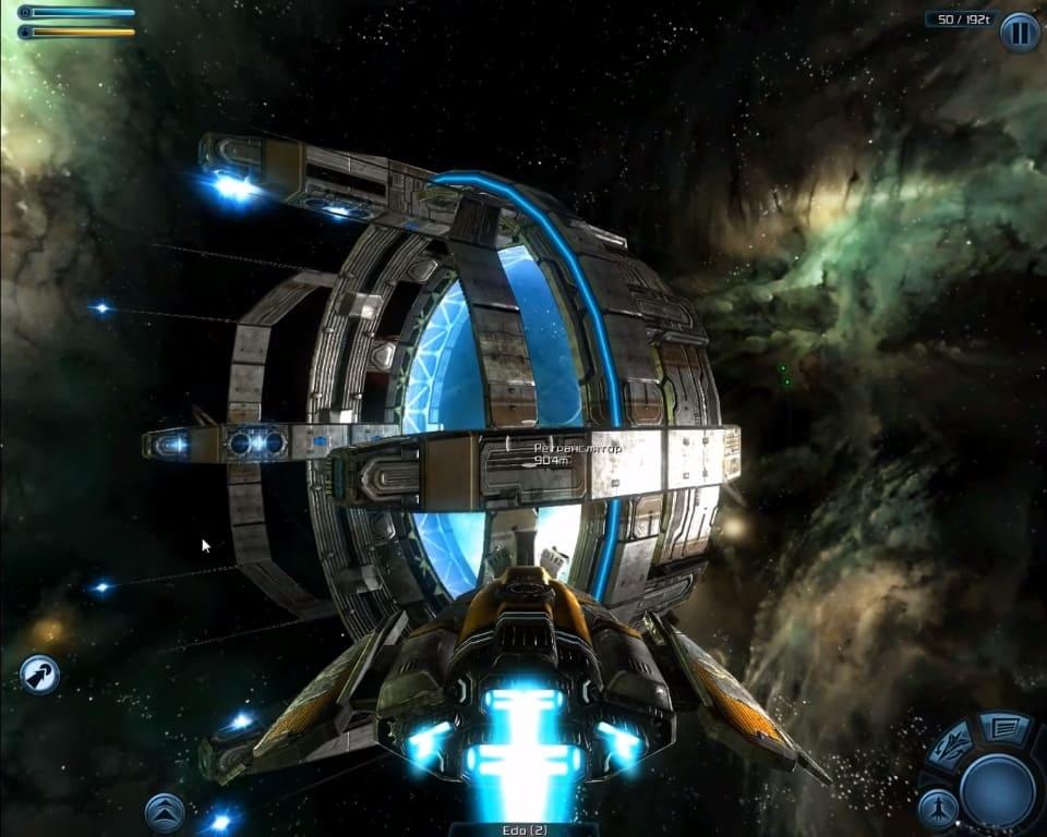 Обзор игры Galaxy on Fire 2