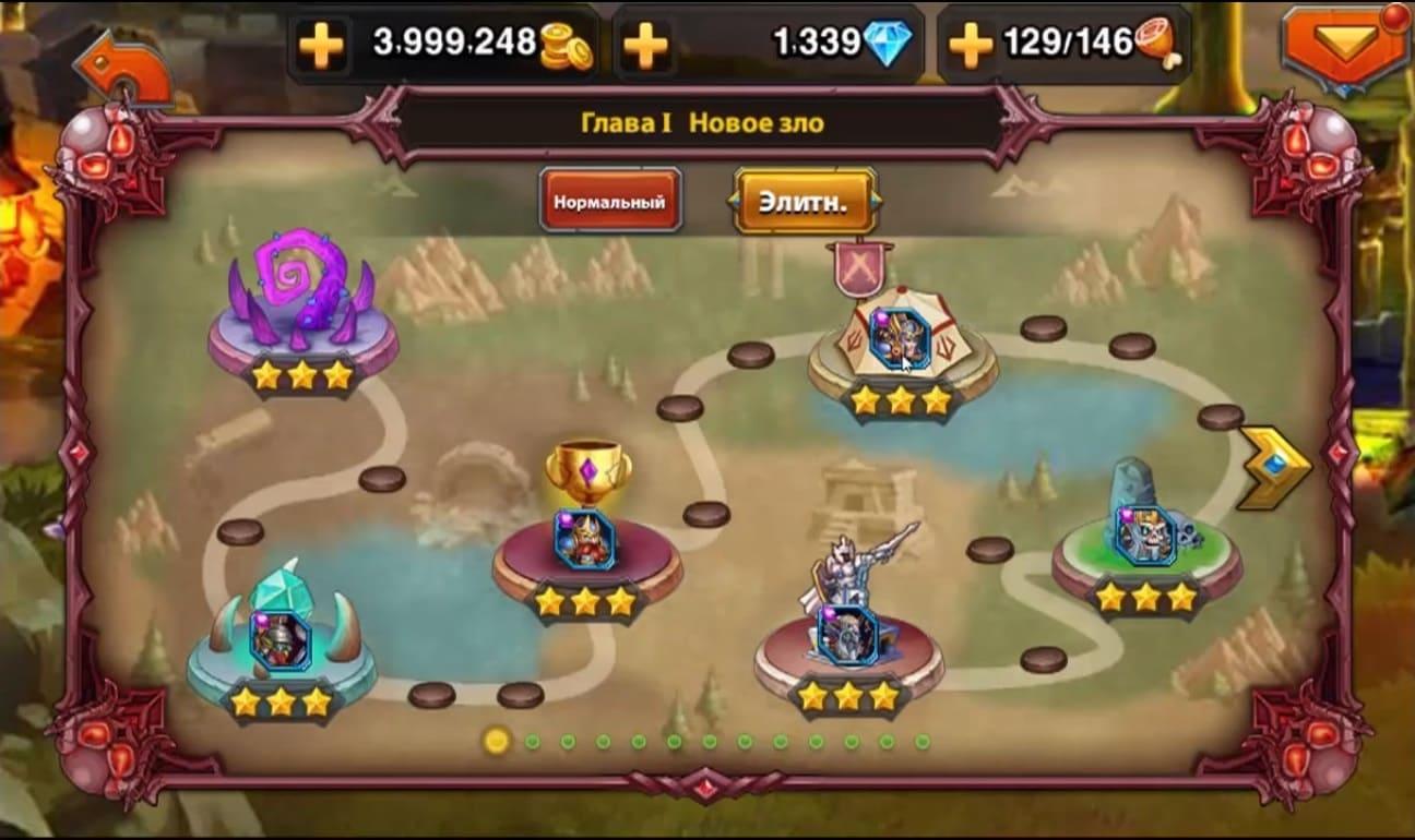 Обзор игры Heroes Charge