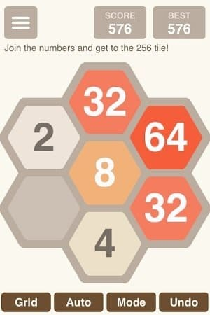 Обзор игры Hexic 2048