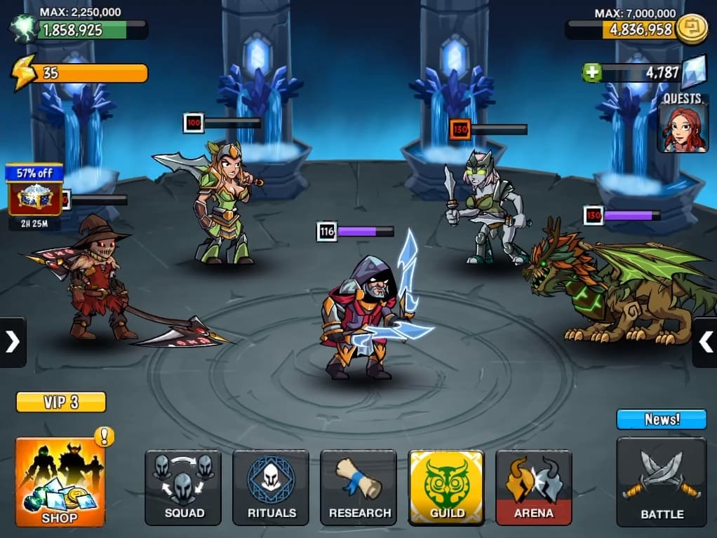 Обзор игры HonorBound