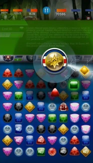 Обзор игры Marvel Puzzle Quest
