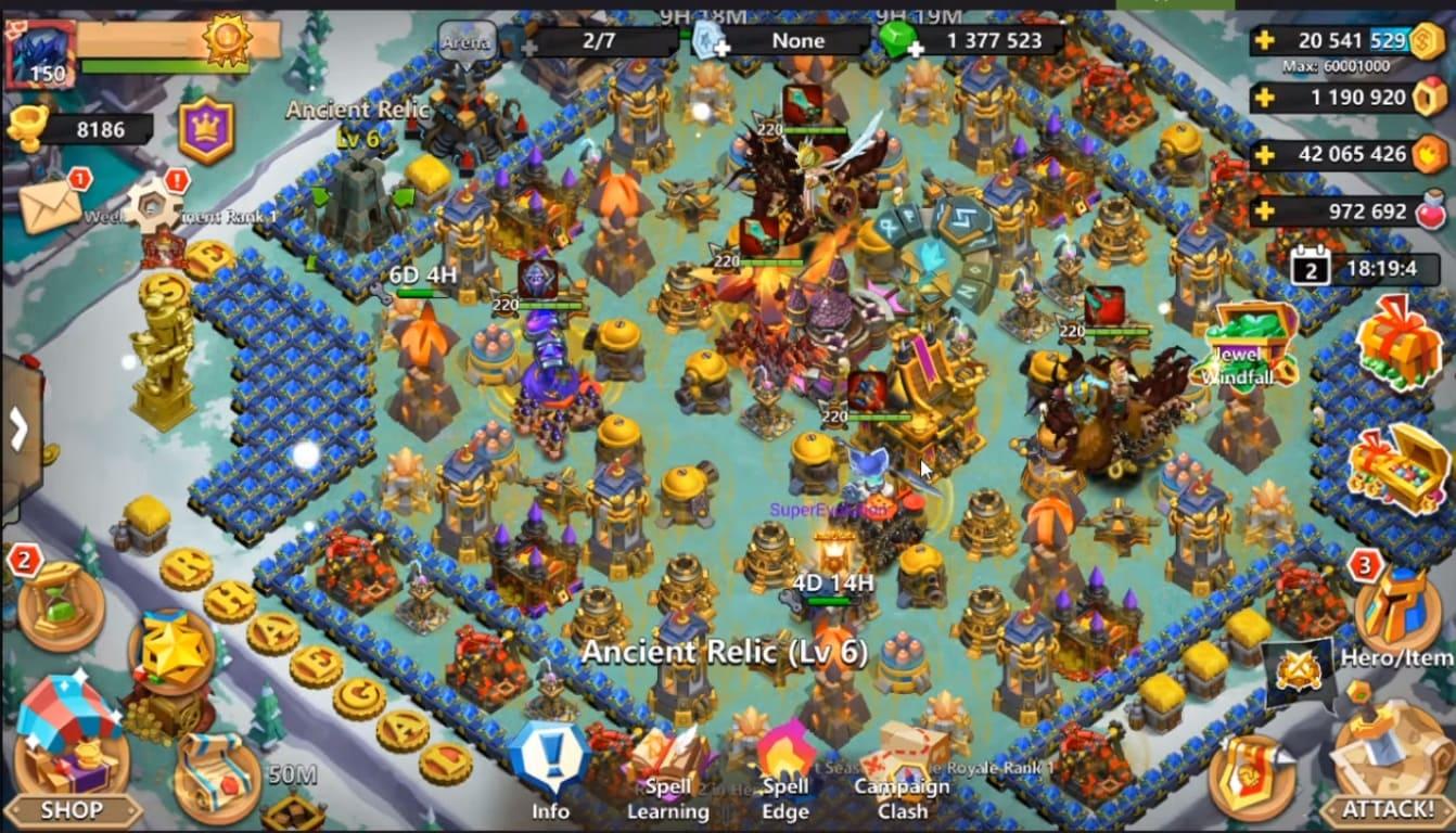 Обзор игры Clash of Lords 2: Guild Castle