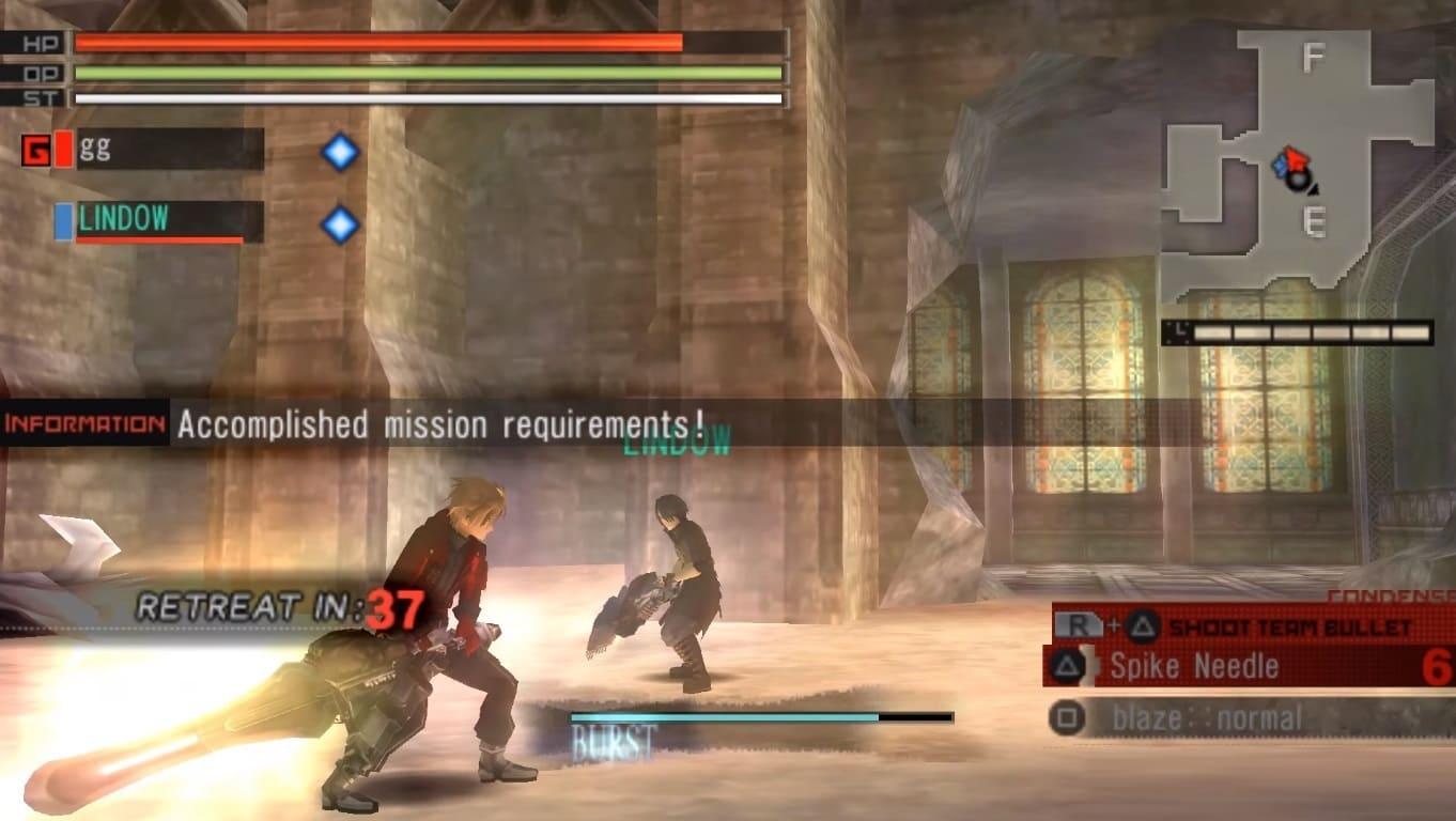 Обзор игры Gods Eater Burst