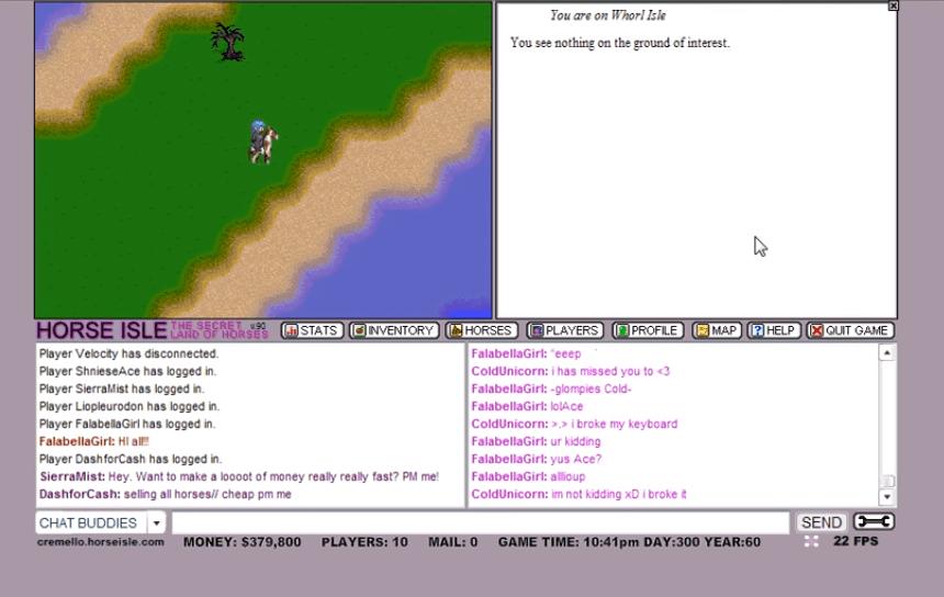 Обзор игры Horse Isle