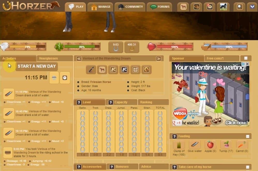 Обзор игры Horzer