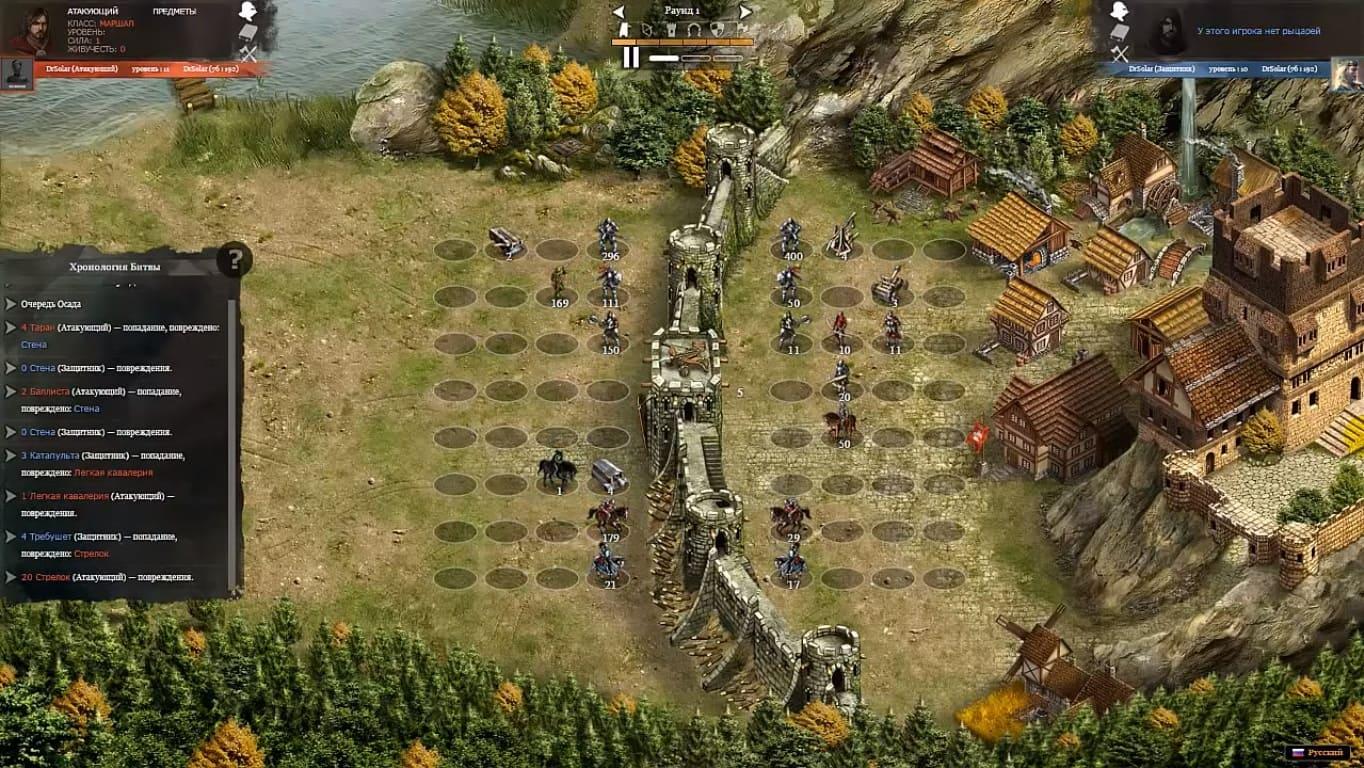 Обзор игры Khan Wars