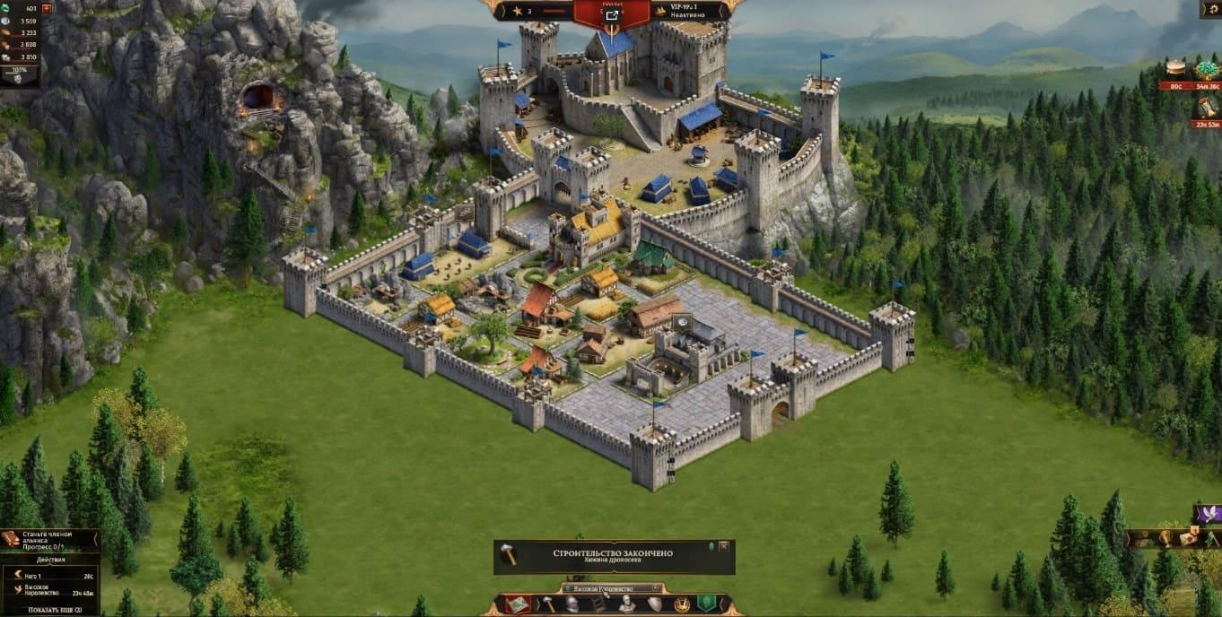 Обзор игры Legends of Honor
