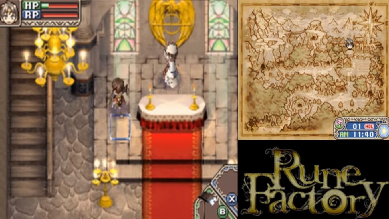 Обзор игры Rune Factory: A Fantasy Harvest Moon