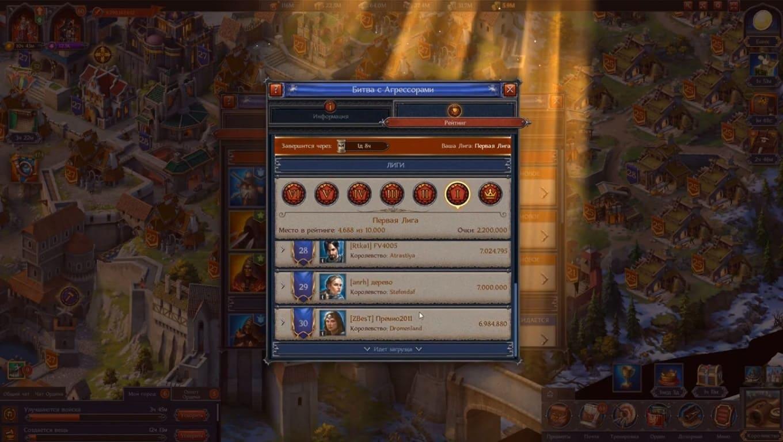 Обзор игры Throne: Kingdom at War