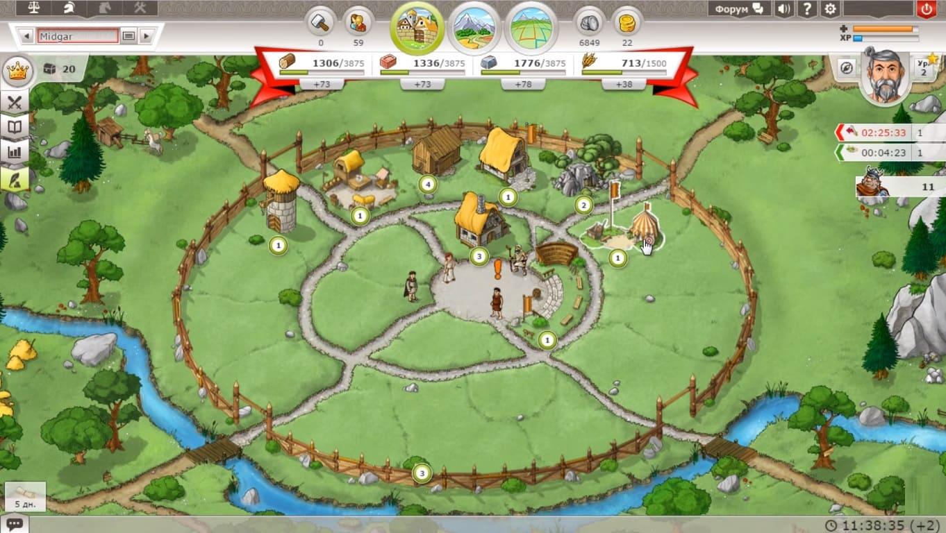 Обзор игры Travian Kingdoms