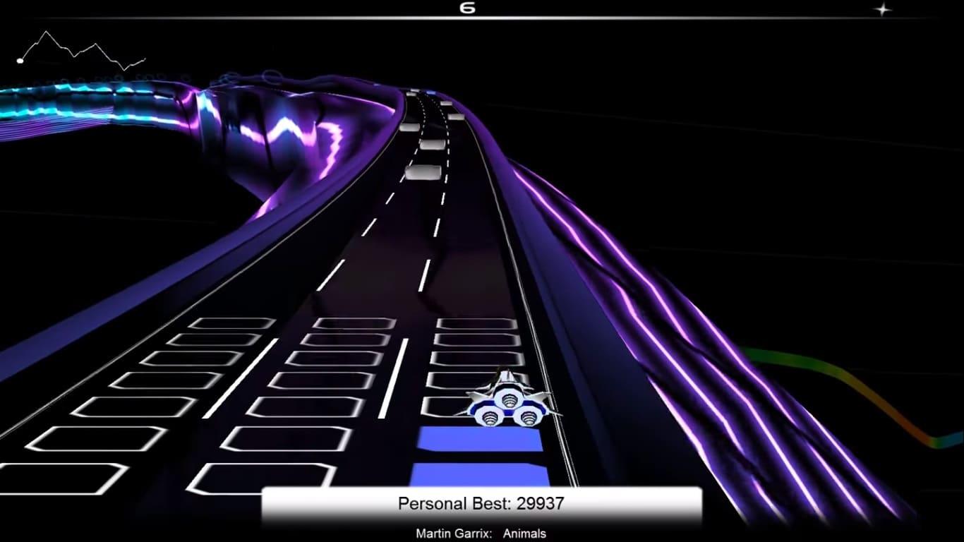 Обзор игры Audiosurf