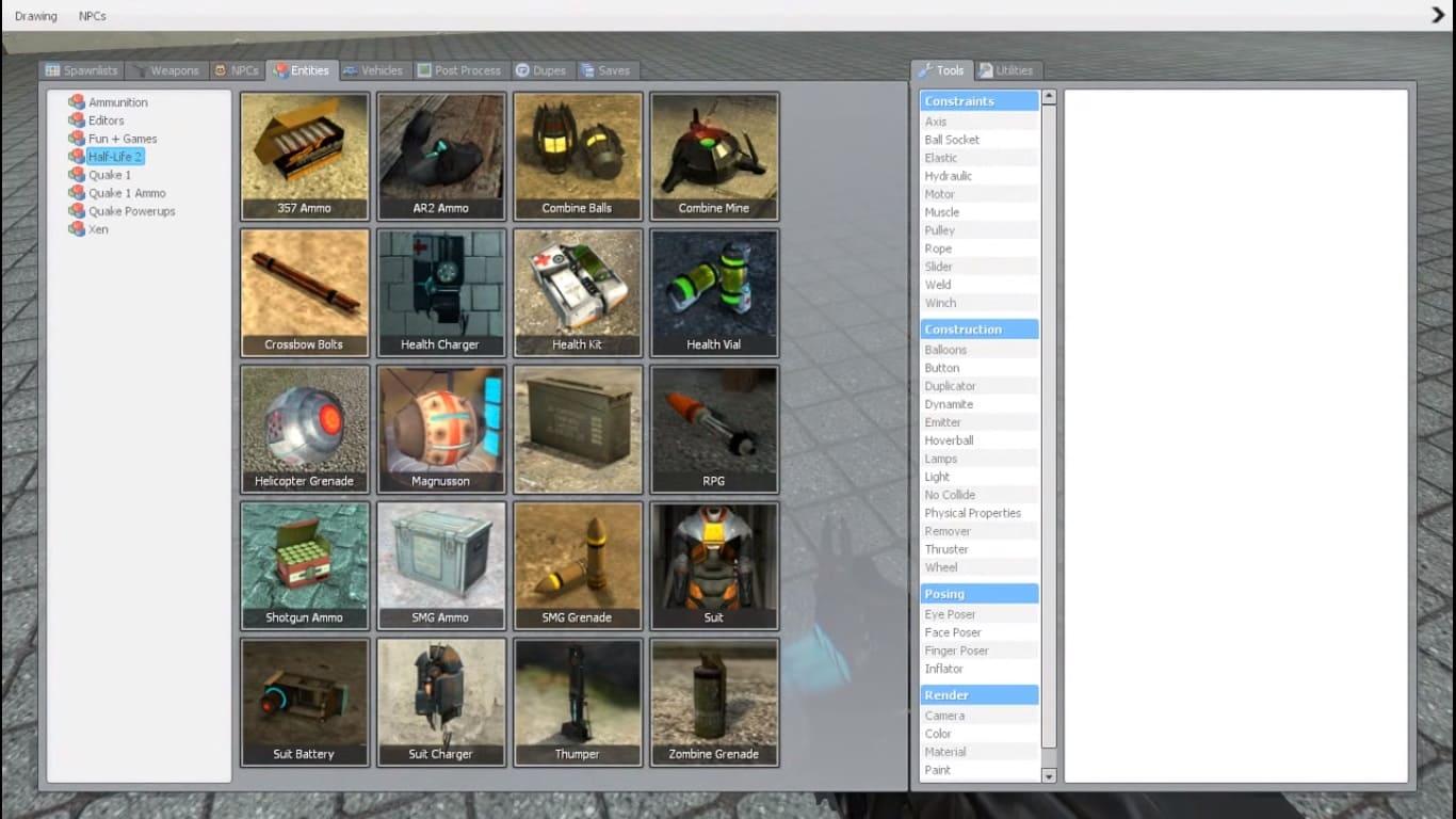 Обзор игры Garry's Mod