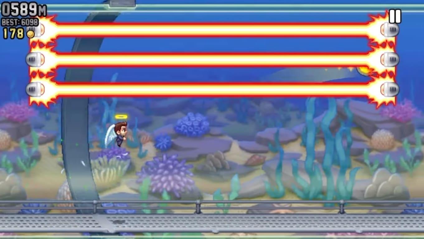 Обзор игры Jetpack Joyride