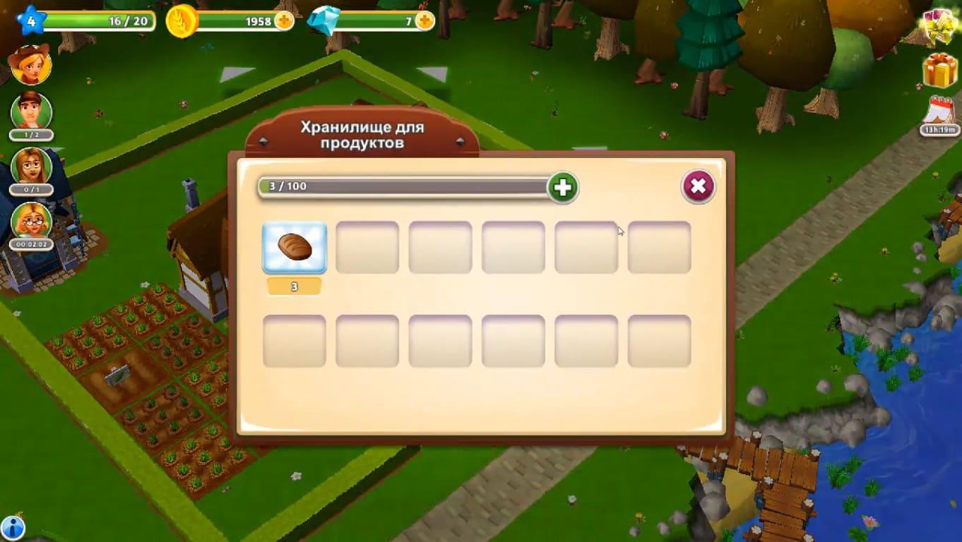 Обзор игры My Free Farm 2