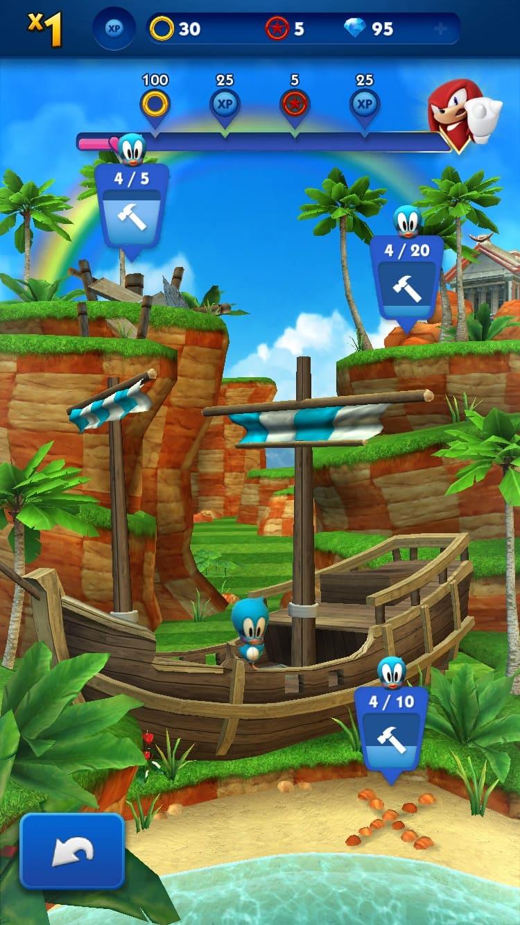 Обзор игры Sonic Dash
