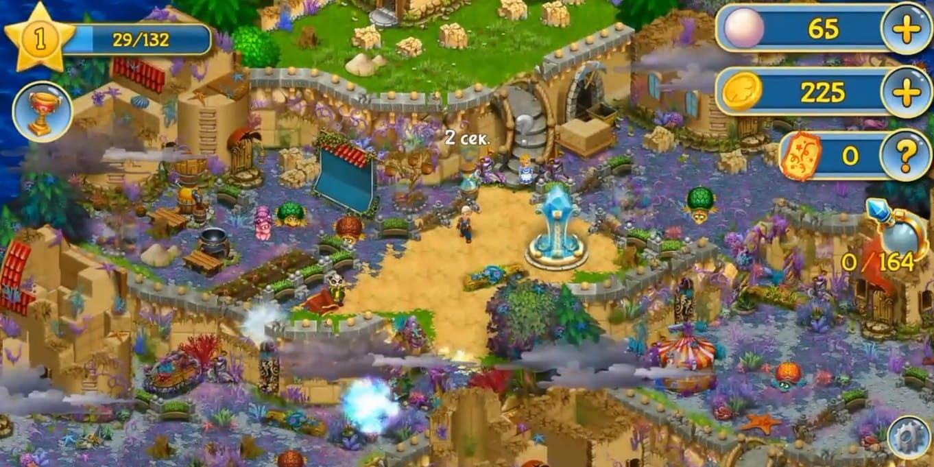 Обзор игры Sunken Secrets