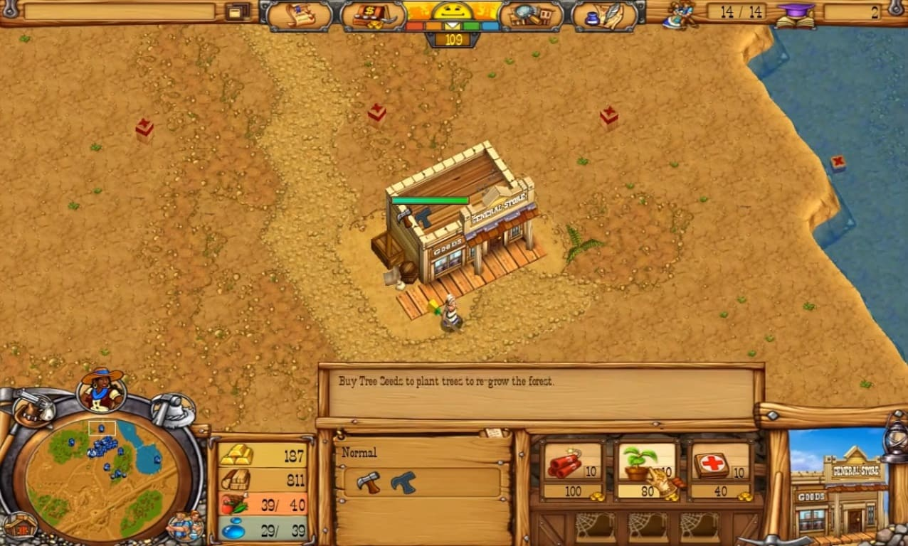 Обзор игры Westward III: Gold Rush