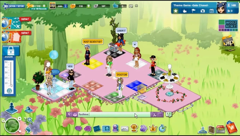 Обзор игры Woozworld