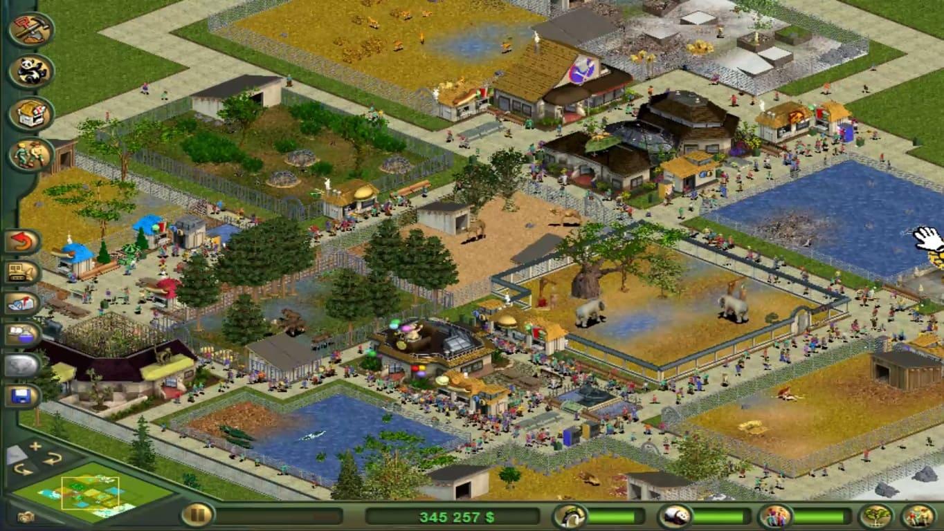 Обзор игры Zoo Tycoon