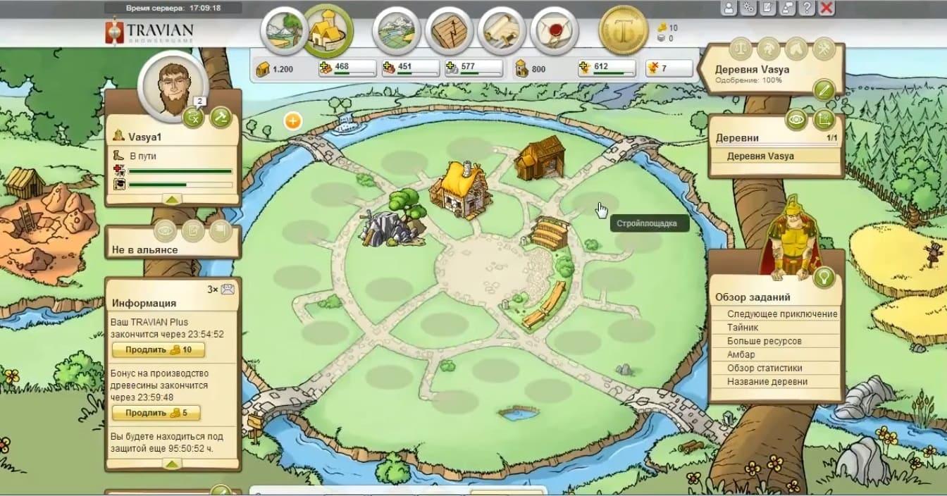 Обзор игры Travian