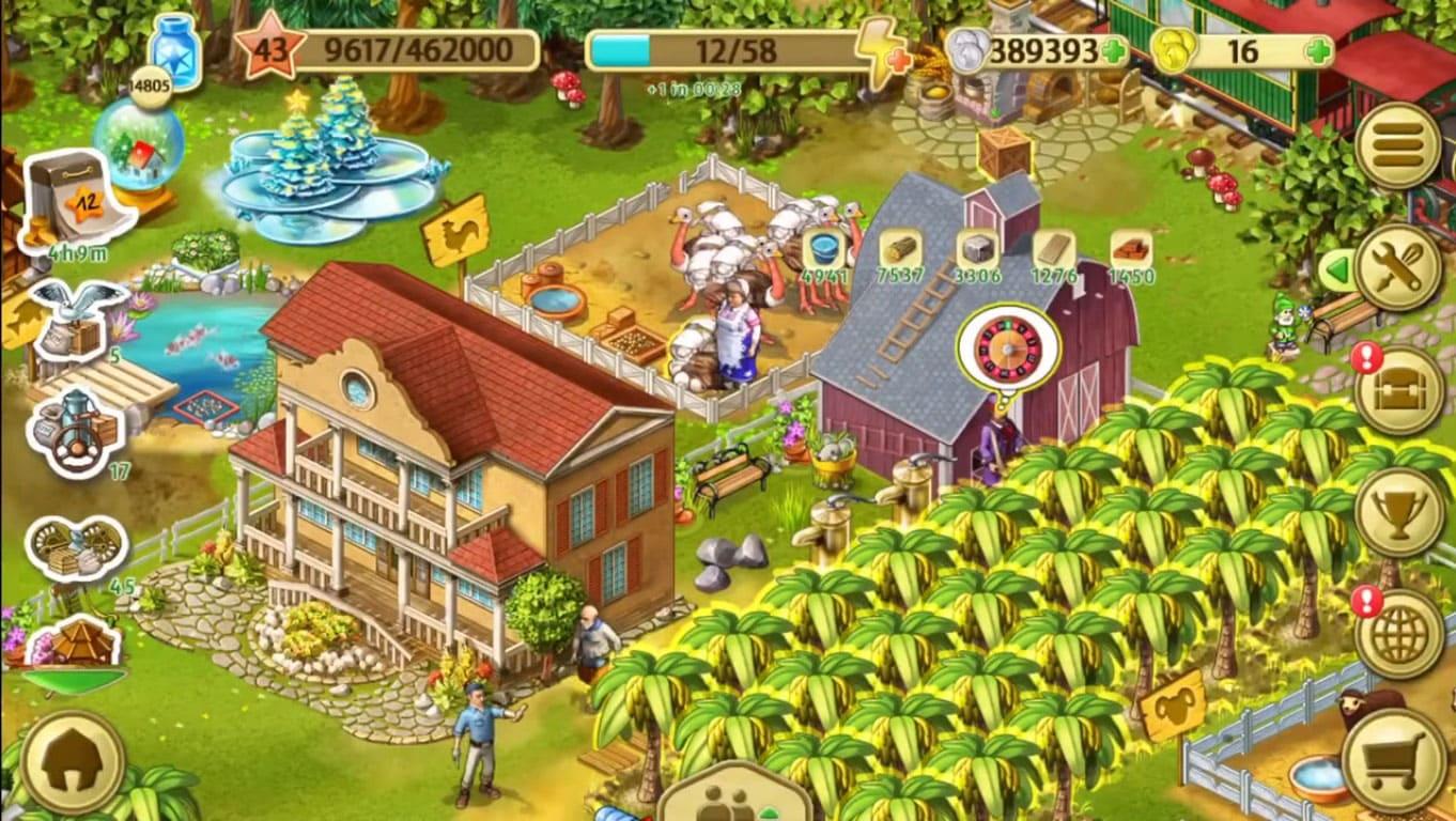 Обзор игры Farm Up