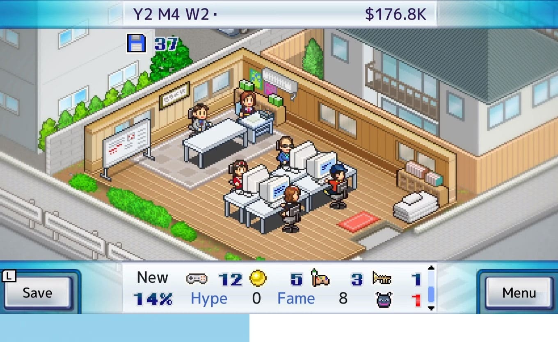 Обзор игры Game Dev Story