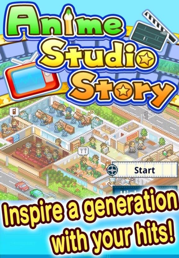 Обзор игры Kairosoft Anime Studio Story