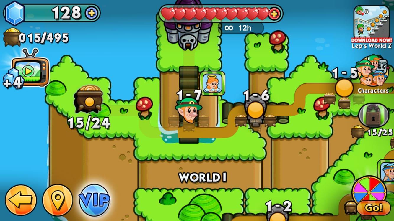 Обзор игры Lep's World