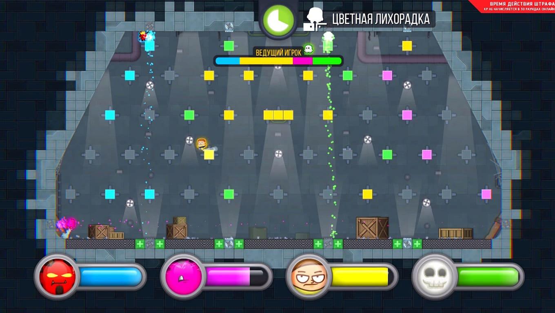 Обзор игры Move or Die