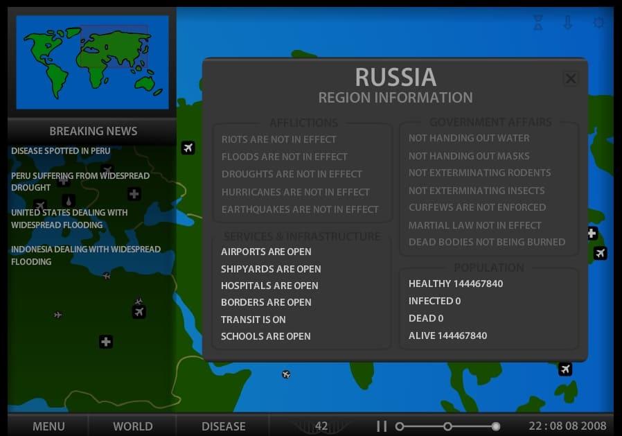 Обзор игры Pandemic 2