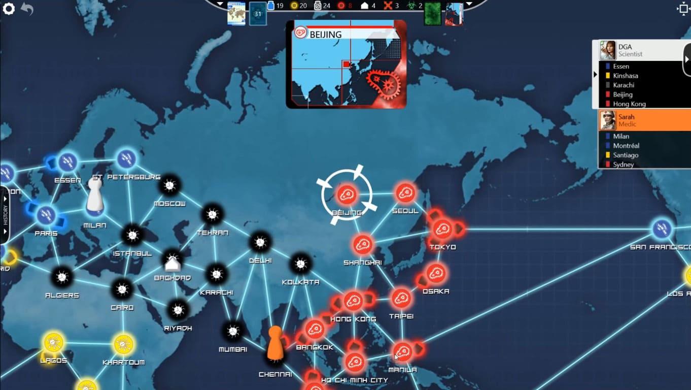 Обзор игры Pandemic: The Board Game