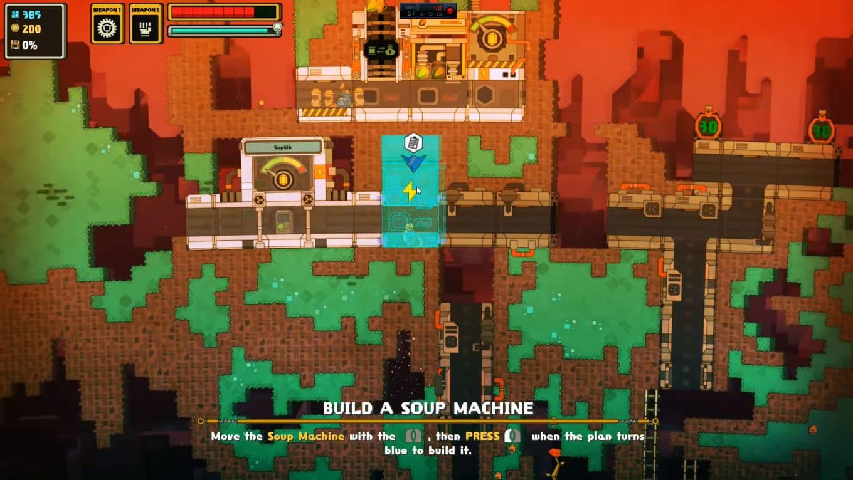 Обзор игры PixelJunk Nom Nom Galaxy