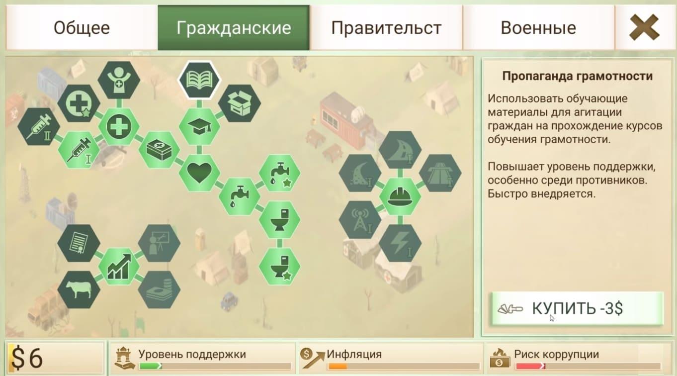 Обзор игры Rebel Inc.