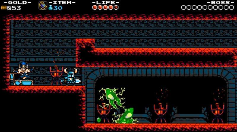 Обзор игры Shovel Knight