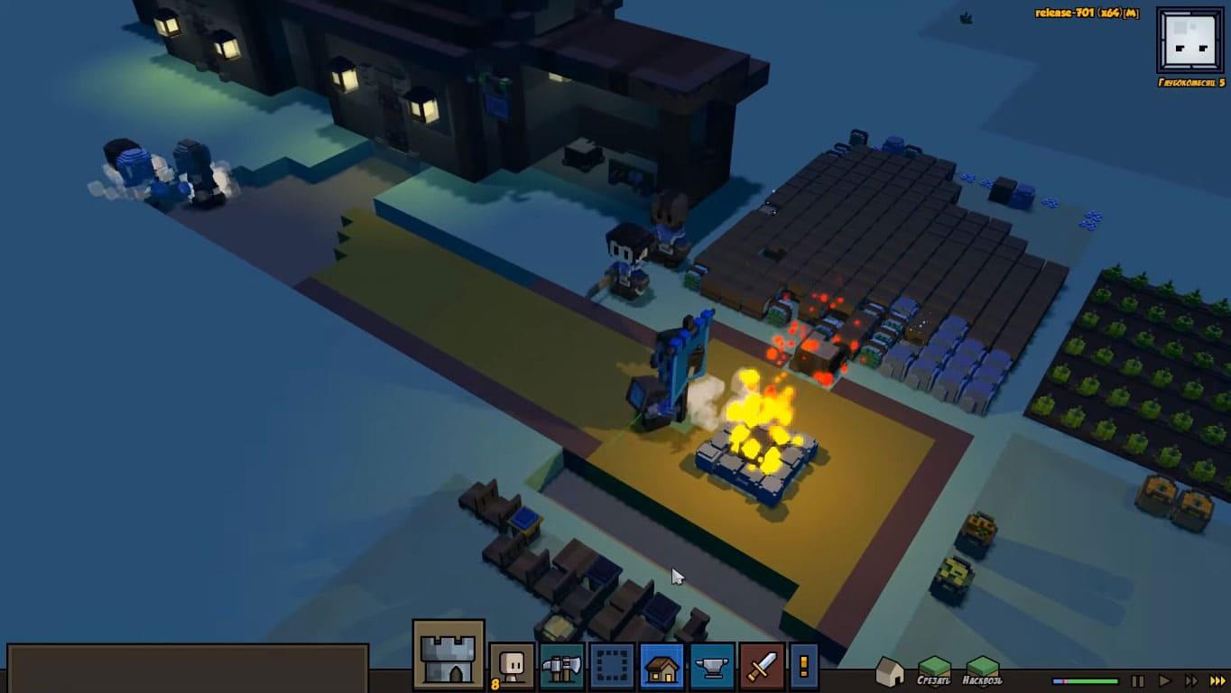 Обзор игры Stonehearth