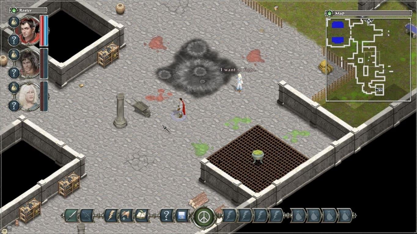 Обзор игры Avadon: The Black Fortress