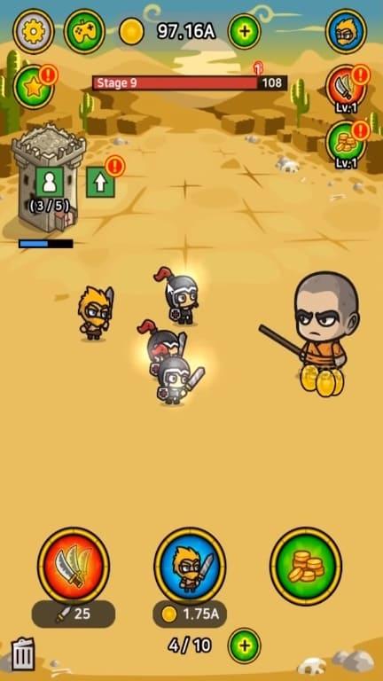 Обзор игры Battle Heroes