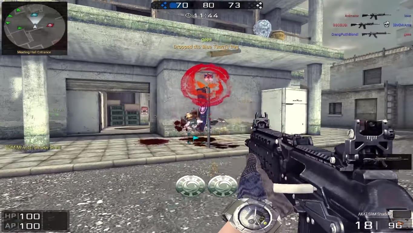 Обзор игры Blackshot