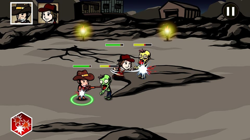 Обзор игры Cowboys and Zombies