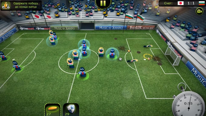 Обзор игры FootLOL: Epic Fail League
