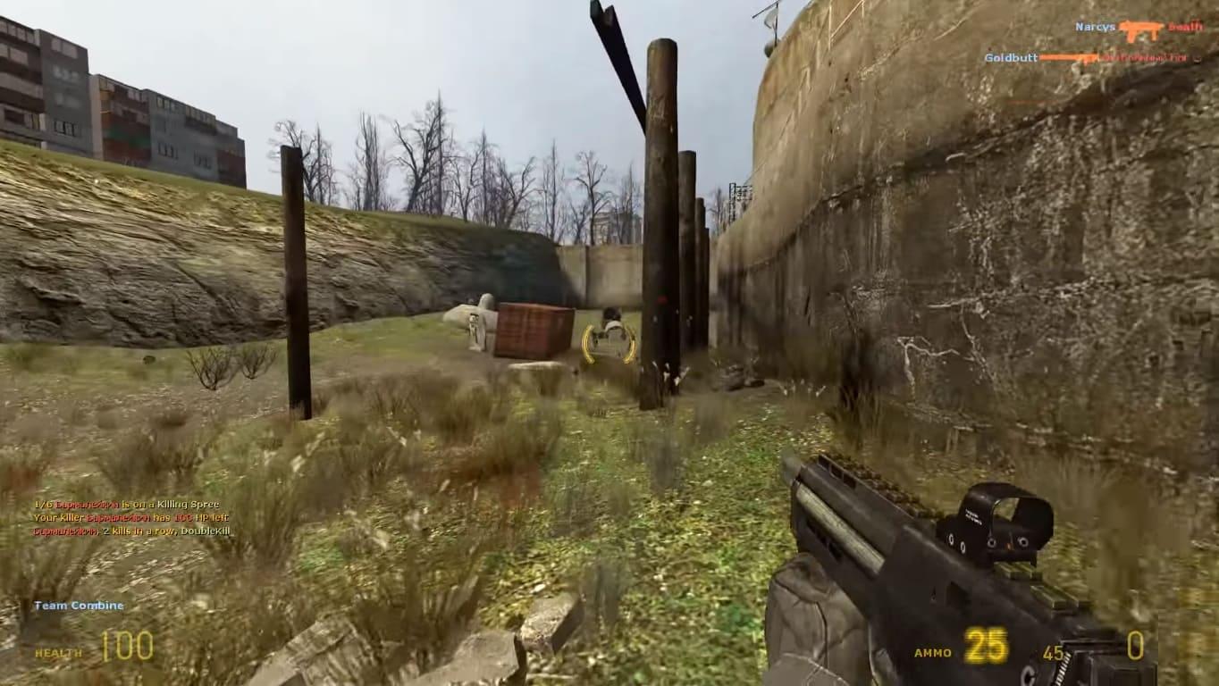 Обзор игры Half-Life 2: Deathmatch