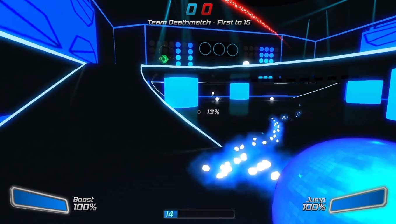 Обзор игры Robot Roller-Derby Disco Dodgeball