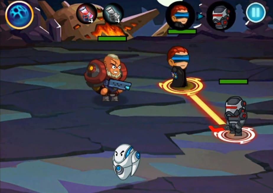 Обзор игры Sci-Fi Heroes
