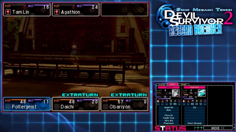 Обзор игры Shin Megami Tensei: Devil Survivor 2