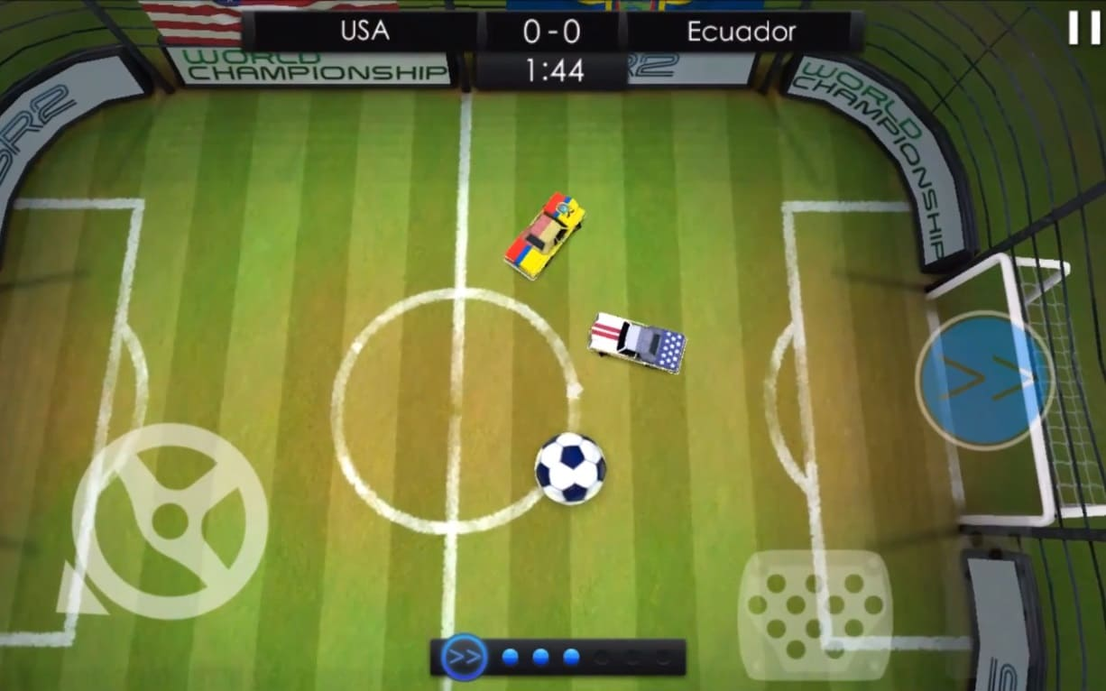 Обзор игры SoccerRally 2 World Championship